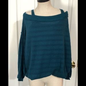 BNWT Free People Women's Sz. Small Teal